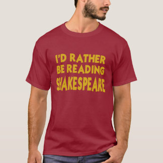 Reading Shakespeare T-Shirt