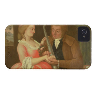 Reading the Palm (oil on canvas) iPhone 4 Case