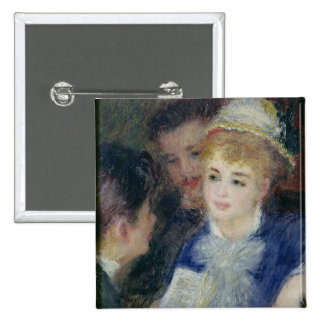 Reading the Role 15 Cm Square Badge