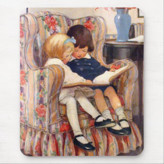 Reading Together Mouse Mat