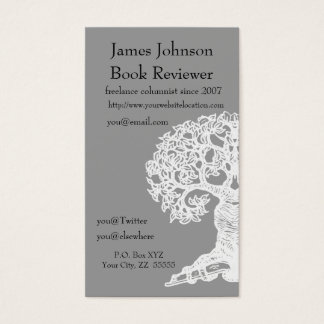 Reading Tree  Regular Business Card