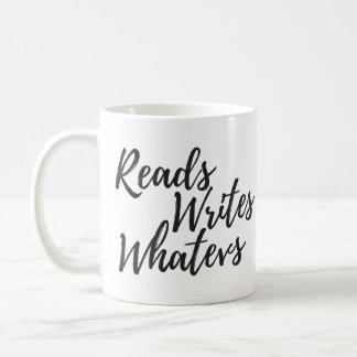 reads writes whatevs script mug