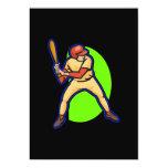 "Ready Batter 5"" X 7"" Invitation Card"
