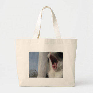 Ready for a cat nap canvas bags