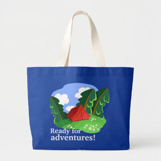 """Ready for adventures"" bag (customizable)"