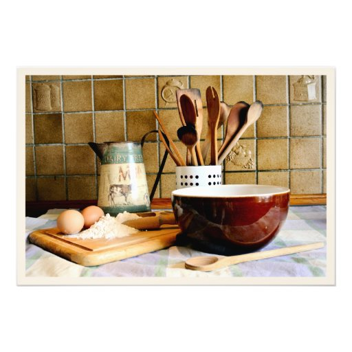 Ready for Baking Photograph
