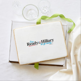 Ready for Hillary to go away