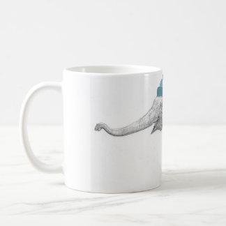 Ready for Santa Elephant Holiday Wraparound Basic White Mug