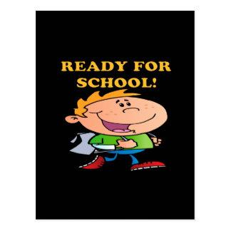 Ready For School 3 Postcard