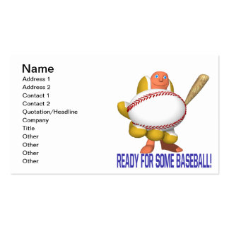 Ready For Some Baseball Pack Of Standard Business Cards