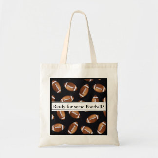 Ready For Some Football? Budget Tote Bag