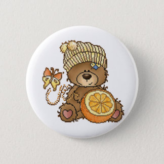 Ready For Spring 6 Cm Round Badge