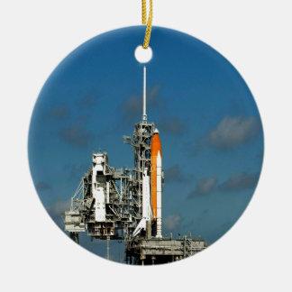 Ready for success rocket astronautics nasa christmas ornament