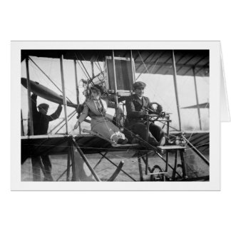 Ready for Takeoff, 1912 Greeting Card