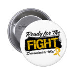 Ready For The Fight Appendix Cancer Pinback Button