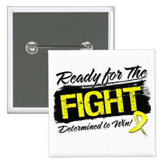 Ready For The Fight Ewing Sarcoma 15 Cm Square Badge