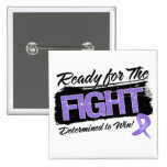 Ready For The Fight Hodgkins Disease Button