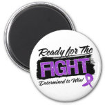 Ready For The Fight Leiomyosarcoma Cancer Refrigerator Magnets