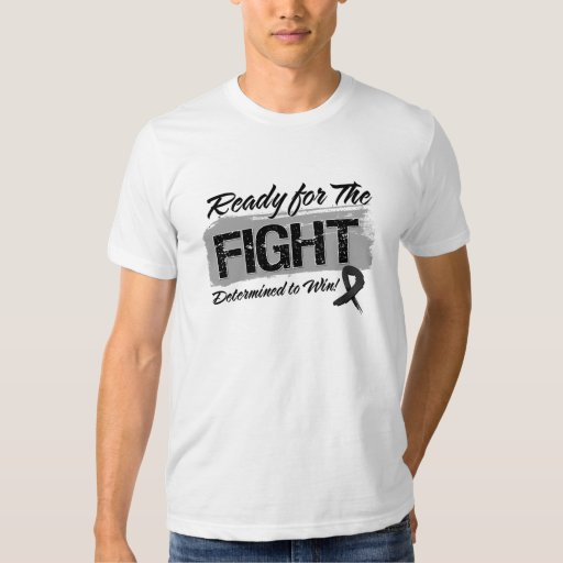 Ready For The Fight Skin Cancer T-shirts
