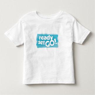 Ready Get Go Toddler Shirt
