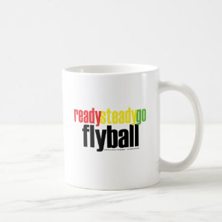 Ready Steady Go Flyball Coffee Mug
