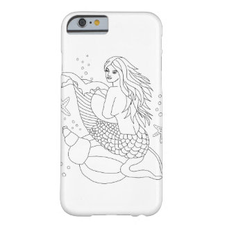 Ready to Color Millie the Mermaid Phone Case