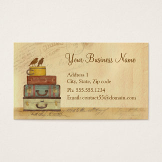 Ready To Fly Love Birds Business Card