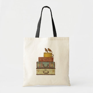 Ready To Fly Love Birds Tote Bag