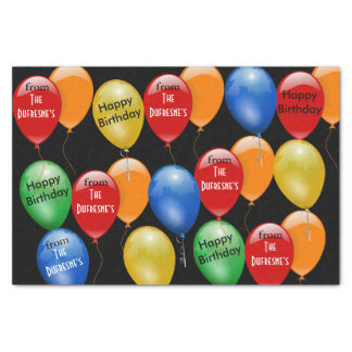 Ready to Go Personalized Birthday Tissue Paper