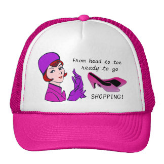 Ready to go Shopping Funny Hat