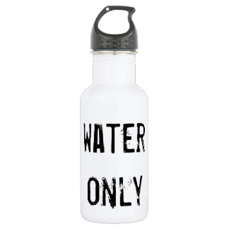 Ready to personalize Water only Water bottle