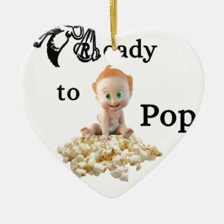 Ready to Pop Christmas Ornament