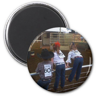 READY TO RODEO KIDS MAGNET REFRIGERATOR MAGNET