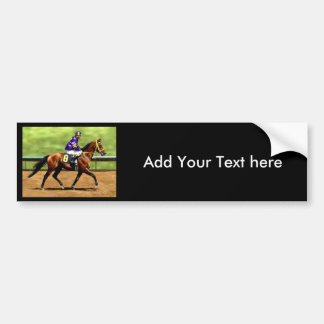 Ready to Run - Horse Painting Bumper Sticker