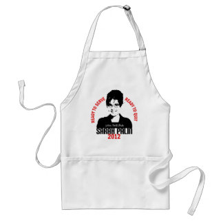 Ready to Serve Ready to Quit Standard Apron