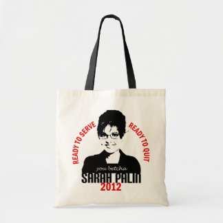 Ready to Serve Tote Bag