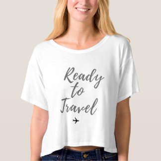 Ready to Travel Crop Top