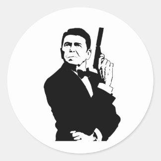 Reagan007 Round Sticker