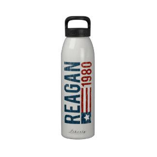 Reagan 1980 Light Liberty Bottle Water Bottles