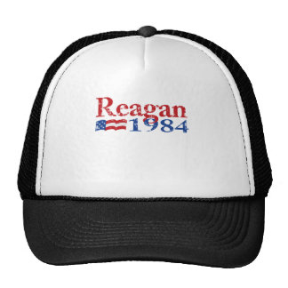 Reagan 1984 mesh hats