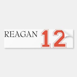 Reagan 2012 car bumper sticker