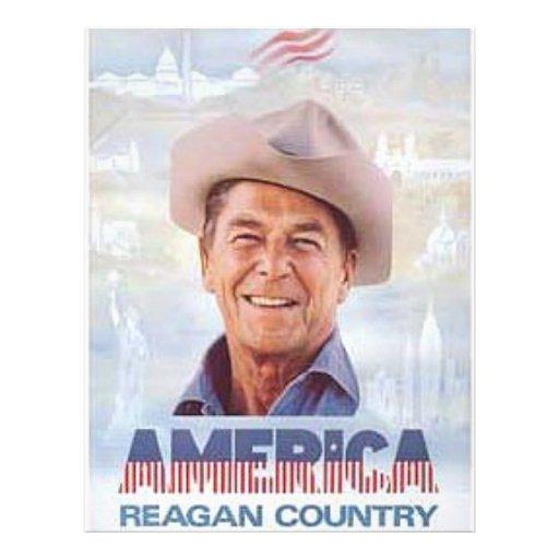 Reagan 21.5 Cm X 28 Cm Flyer