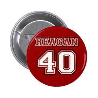 Reagan 40 pinback buttons