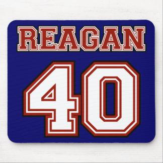 Reagan # 40 mouse pad