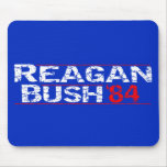 Reagan 84 - distressed mouse pad
