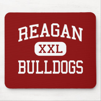 Reagan - Bulldogs - High School - Houston Texas Mouse Pad