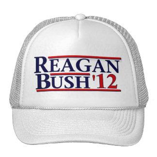 Reagan Bush '12 Trucker Hat