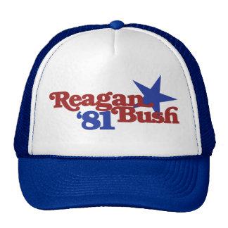 Reagan Bush 1981 Hat