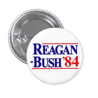 Reagan Bush 1984 Campaign Pin