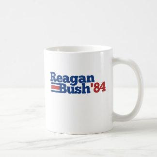 Reagan Bush 1984 Mug